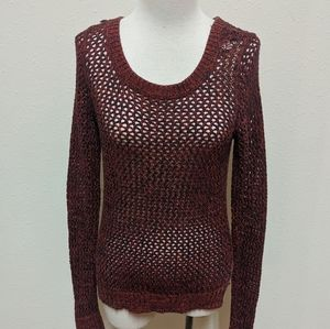 3for$20 fishnet style sweater size small